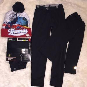 Thermal set w/ next warmth level pants Thomas hat